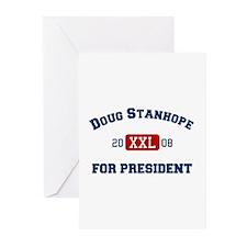 Doug Stanhope for President Greeting Cards (Packag