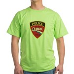 Ozark Missouri Police Green T-Shirt