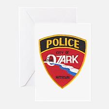 Ozark Missouri Police Greeting Cards (Pk of 10