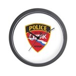 Ozark Missouri Police Wall Clock