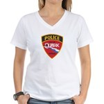 Ozark Missouri Police Women's V-Neck T-Shirt