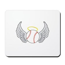 Baseball Angel Mousepad