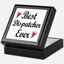 Best Dispatcher Ever Keepsake Box