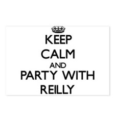 Keep calm and Party with Reilly Postcards (Package