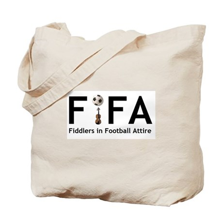 FiFA--Fiddlers in Football At Tote Bag