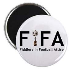 "FiFA--Fiddlers in Football At 2.25"" Magnet (10 pac"