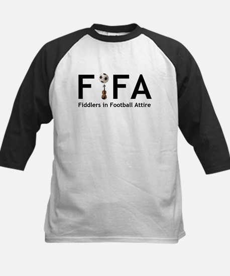 FiFA--Fiddlers in Football At Kids Baseball Jersey