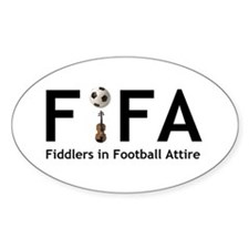 FiFA--Fiddlers in Football At Oval Decal