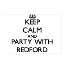 Keep calm and Party with Redford Postcards (Packag