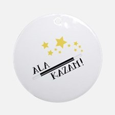 ALA KAZAM! Ornament (Round)