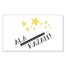 ALA KAZAM! Decal