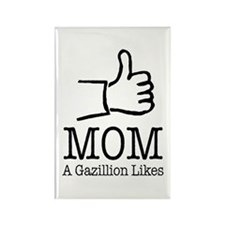 A Gazillion Likes for Mom Magnets
