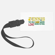 Tennis The Only Game Where Love Means Nothing Lugg