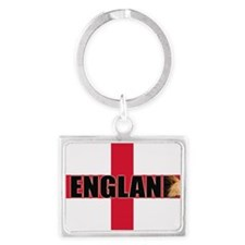 Come on England Landscape Keychain