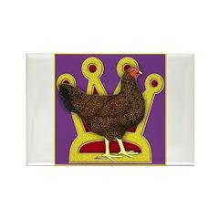 Queen Chantecler Rectangle Magnet (10 pack)