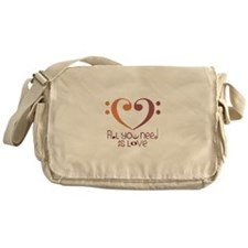 ALL you need is Love Messenger Bag