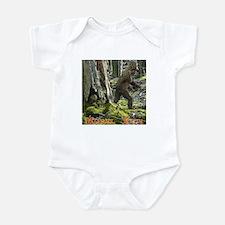 Morel Yeti Big foot gifts Infant Bodysuit