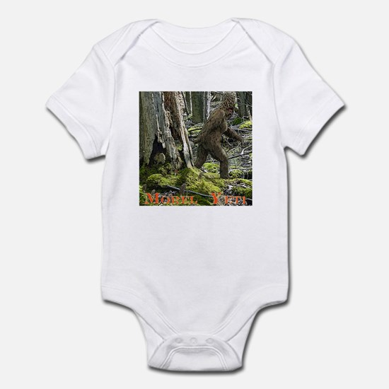Morel Yeti Big foot gifts Infant Bodysuit
