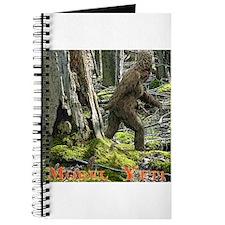 Morel Yeti Big foot gifts Journal