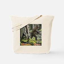 Morel Yeti Big foot gifts Tote Bag