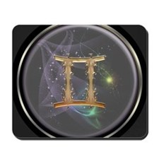 Gemini Zodiac Sign Mousepad