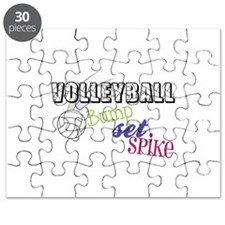 Volleyball Bump Set Spike Puzzle