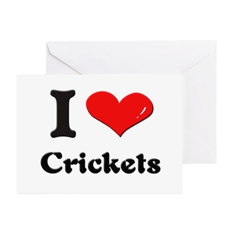 I love crickets Greeting Cards (Pk of 10)