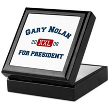 Gary Nolan for President Keepsake Box