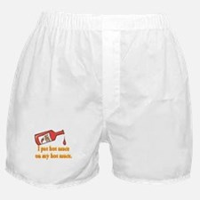 Put Hot Sauce on My Hot Sauce Boxer Shorts