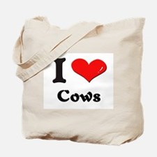 I love cows Tote Bag