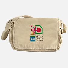 Arts & Crafts Lover Messenger Bag