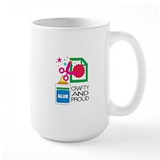 Crafty And Proud Mugs