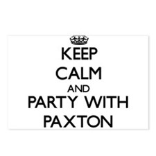 Keep calm and Party with Paxton Postcards (Package
