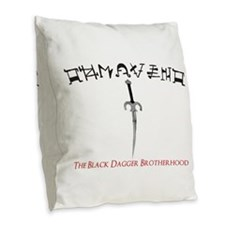 Tohrment OL Burlap Throw Pillow