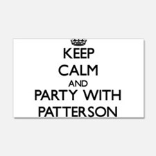 Keep calm and Party with Patterson Wall Decal