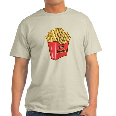 French Fry Junkie Light T-Shirt