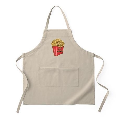 French Fry Junkie BBQ Apron
