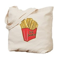 French Fry Junkie Tote Bag