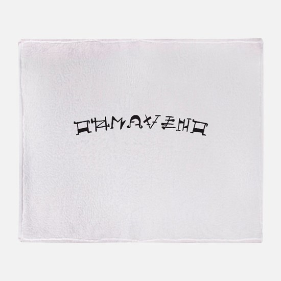 Tohrment OL Throw Blanket