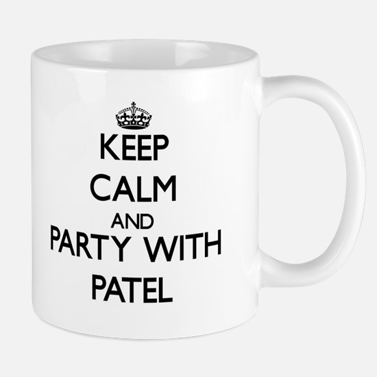 Keep calm and Party with Patel Mugs