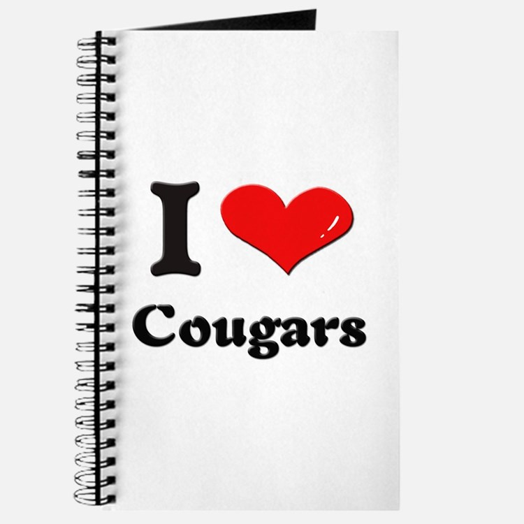 I love cougars Journal