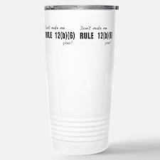 Cool Law professors Travel Mug
