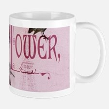 pink vintage chandelier paris eiffel tower Mugs