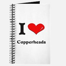 I love copperheads Journal