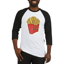 French Fry Junkie Baseball Jersey