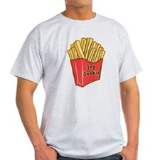 French Fry Junkie T-Shirt