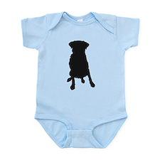 Dog Bone and Paw Infant Bodysuit