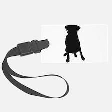 Dog Bone and Paw Luggage Tag