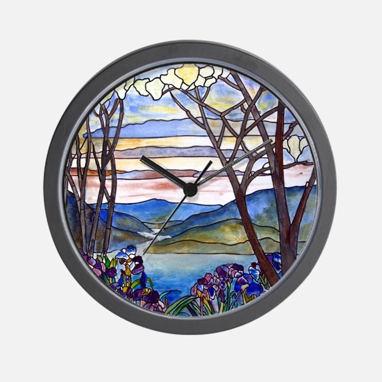 Stained Glass Clocks Stained Glass Wall Clocks Large