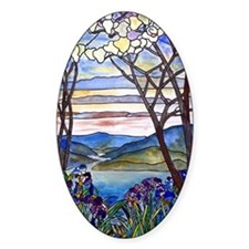 Tiffany Frank Memorial Window Decal